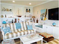 Love this coastal living room