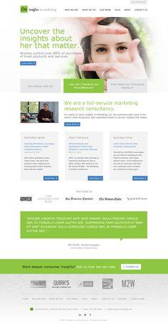 Insights In Marketing Website  ||  Streng Design & Advertising #ResponsiveDesign #WebDesign #WebDevelopment #UIdesign #InterfaceDesign #umbraco