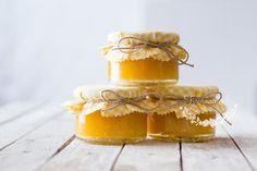 Domácí pomerančová marmeláda - Tvořivá víla Panna Cotta, Food And Drink, Honey, Cooking, Ethnic Recipes, How To Make, Gifts, Wrapping, Kitchen