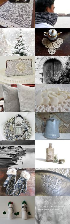Winter Interlude by Diane Waters on Etsy--Pinned with TreasuryPin.com