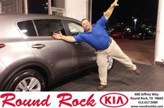https://flic.kr/p/ME3fZx | Congratulations Steve on your #Kia #Sportage from LATONYA CARR at Round Rock Kia! | deliverymaxx.com/DealerReviews.aspx?DealerCode=K449