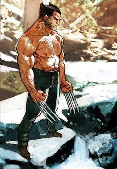 wolverine by *joel27 on deviantART #wolverine #superheroes