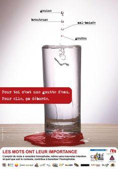 Campagne du Caelif pour la journée mondiale contre l'homophobie (17 mai 2010)