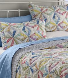 Chantelle Cotton Reversible Quilt | Quilt, The o'jays and Beds : llbean quilts - Adamdwight.com