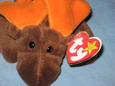 Chocolate the Moose - TY Beanie Baby. I had so many of these in the 90's