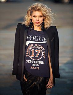 Le t-shirt collector de la Vogue Fashion Night 2013