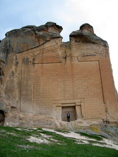 King Midas's tomb and Phrygian remains, Sehitgazi valley near Eskisehir.  King Midas is popularly remembered in Greek mythology for his ability to turn everything he touched into gold. This came to be called the Golden touch, or the Midas touch.