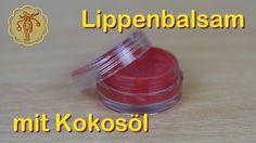 Lippenbalsam aus Kokosöl - super einfach und schnell