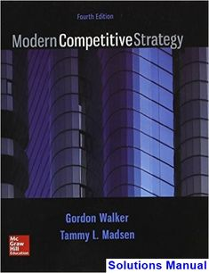 Microeconomics 12th edition solutions manual michael parkin free modern competitive strategy 4th edition walker solutions manual test bank solutions manual exam fandeluxe Image collections