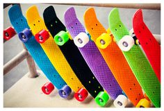 Penny Boards are totally a new trend. This one's for my oldest son...he loves these