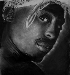 Tupac by ~fabriceg  Traditional Art / Drawings