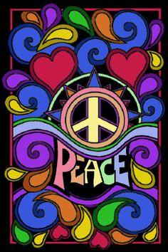Peace and Love ✌Peace Sign Sun #Hippilicious  #P-E-A-C-E