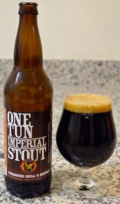 Firehouse's One Tun Imperial Stout - Man is this a tasty Imperial Stout. So many beers of this style try and get too big and as a result lose the aspect of balance, but this one finds a nice middle ground. The chocolate flavor is rich and bold, but the body and mouthfeel make sure to keep up with it. I really wonder what this would taste like with a little barrel aging, since the base beer is so darn good already.