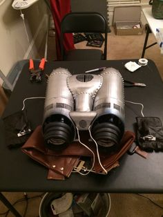 Rocketeer Jetpack by Longshot Amazing Cosplay, Best Cosplay, Movie Props, I Movie, Movie Archive, Cosplay Costumes, Cosplay Ideas, Famous Monsters, Gothic Steampunk