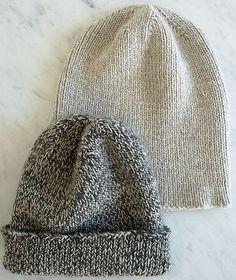 """""""The Boyfriend Hat"""" free knitting pattern by Purl Soho / The Purl Bee Knitting Patterns Free, Knit Patterns, Free Knitting, Free Pattern, Sewing Patterns, Knitting Yarn, Knit Or Crochet, Crochet Hats, Tunisian Crochet"""