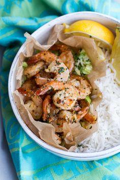 Hawaiian Shrimp Truck Special (Garlic Lemon Butter Shrimp)