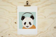 Print Polkadot Panda