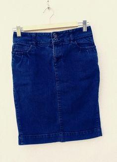Kup mój przedmiot na #vintedpl http://www.vinted.pl/damska-odziez/spodnice/10596638-jeansowa-olowkowa-spodniczka-przed-kolano