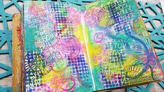Let's art journal with Mermaid Markers! Video tutorial with Mimi Bondi (ST65)