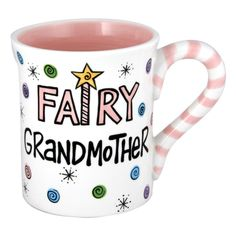 Fairy Grandmother Coffee Mug.  Makes an ideal #MothersDayGift for Grandma.