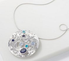 You're destined to shine when you let this bold galaxy pin/pendant light the way with its star and moon design. Jewelry For Her, Jewelry Necklaces, Moon Design, Diamond Jewelry, Jewelry Collection, Handmade Jewelry, Jewelry Design, Pendants, Pendant Necklace