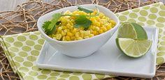 Fresh Corn Saute with Coconut Milk & Sriracha