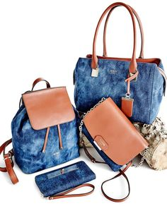bc480bce4b When your fav pair of jeans meets your go-to carryall  Introducing the  Camylle Handbag Collection. GUESS