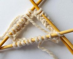 getting started with double-pointed needles in four easy steps. #knitting. I love dp needles...