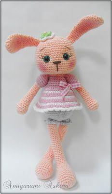 Amigurumi Aşkına-Örgü Oyuncaklarım: Amigurumi Tavşan- Örgü Oyuncak Tavşan