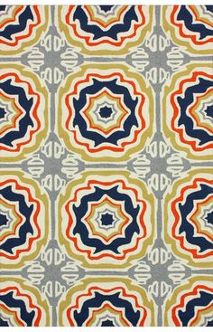 nuLOOM Multi Sevilla Tiles Indoor/ outdoor area rug | Transitional, Outdoor Rugs