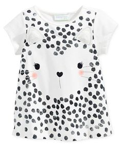 First Impressions Baby Girls' Graphic-Print T-Shirt, Only at Macy's   macys.com