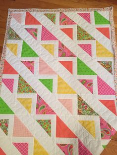 Terry Atkinson's Corn Rows made and quilted by Linda P.