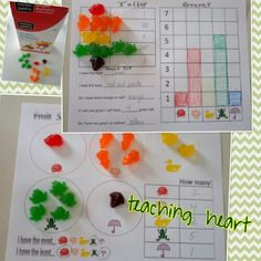 2 free activity sheets to go along with the Target brand Springtime Fruit Snacks!  Graphing and sorting spring treats.