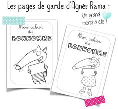 Bonhomme du mois avec le Loup Petite Section, Grande Section, Kindergarten, Education, School, Kids, Ms Gs, Portraits, Change