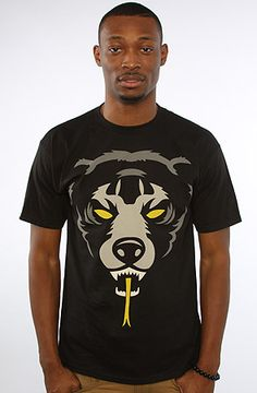 The Oversize Adder Tee in Black by Mishka