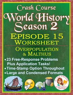 Crash Course World History SEASON 2 Episode 13 Worksheet: Imperialism in Asia Have Fun Teaching, Teaching Ideas, Teaching Resources, Crash Course World History, Map Worksheets, Kindergarten Worksheets, Printable Worksheets, Teaching History, Social Studies