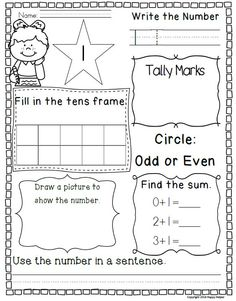 8 free morning work pages!! Numbers, money, and word problems included!