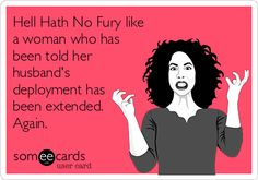 Husband's deployment has been extended. Again. - MilitaryAvenue.com