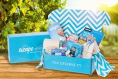 Escape Monthly Christmas gift