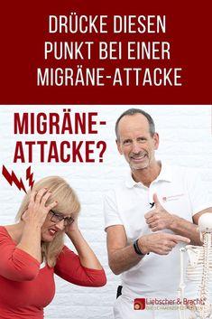 Bei dir ist mal wieder eine Migräne-Attacke im Anflug? Wir zeigen dir heute einen ganz besonderen Punkt an deinem Hinterkopf, den du bei den ersten Anzeichen drücken kannst, um einen schweren Verlauf zu verhindern.