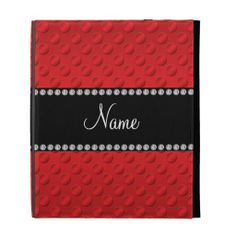 Personalized name red polka dots iPad folio case We provide you all shopping site and all informations in our go to store link. You will see low prices onHow to          	Personalized name red polka dots iPad folio case Online Secure Check out Quick and Easy...