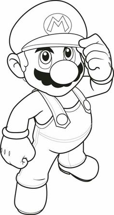 mario coloring pages goomba mushroom   Coloring   Pinterest ...