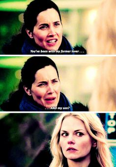 """Well, that's what happens when you go to Neverland. Everyone's ages are screwed. Emma's face though she's like """"uh yes?"""""""