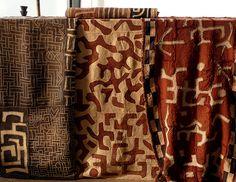 Kuba cloth from www.hamillgallery.com