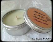 """Bougie naturelle parfum """"Plaisirs sucrés"""" : Luminaires par les-lueurs-de-meloe"""
