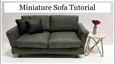 Miniature Sofa/Couch Tutorial
