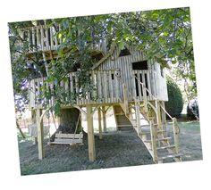 Treehouse 4 - Cheeky Monkey Treehouses