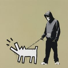 BANKSY - CHOOSE YOUR WEAPON (KHAKI) - KUNZT.GALLERY http://www.widewalls.ch/artwork/banksy/choose-your-weapon-khaki-2/