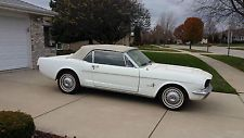 Ford : Mustang CONVERTIBLE NO RESERVE 1966 MUSTANG CONVERTIBLE 6CYL