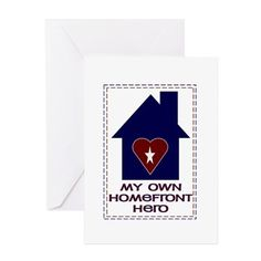 5/8/15 = Military Spouse Appreciation Day. Find an awesome card to let your spouse know how much you appreciate them @ http://www.cafepress.com/militarylifesmoments/12447877  Hero Of My Heart & Home Milspouse Greeting Car